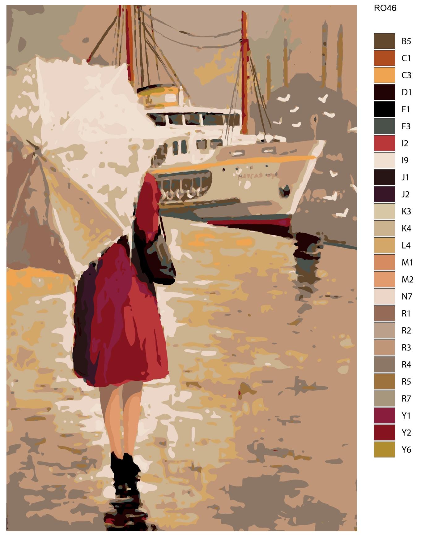 Картина по номерам, 80 x 120 см, RO46 ночная автобусная экскурсия по следам романа мастер и маргарита 2019 05 18t01 00