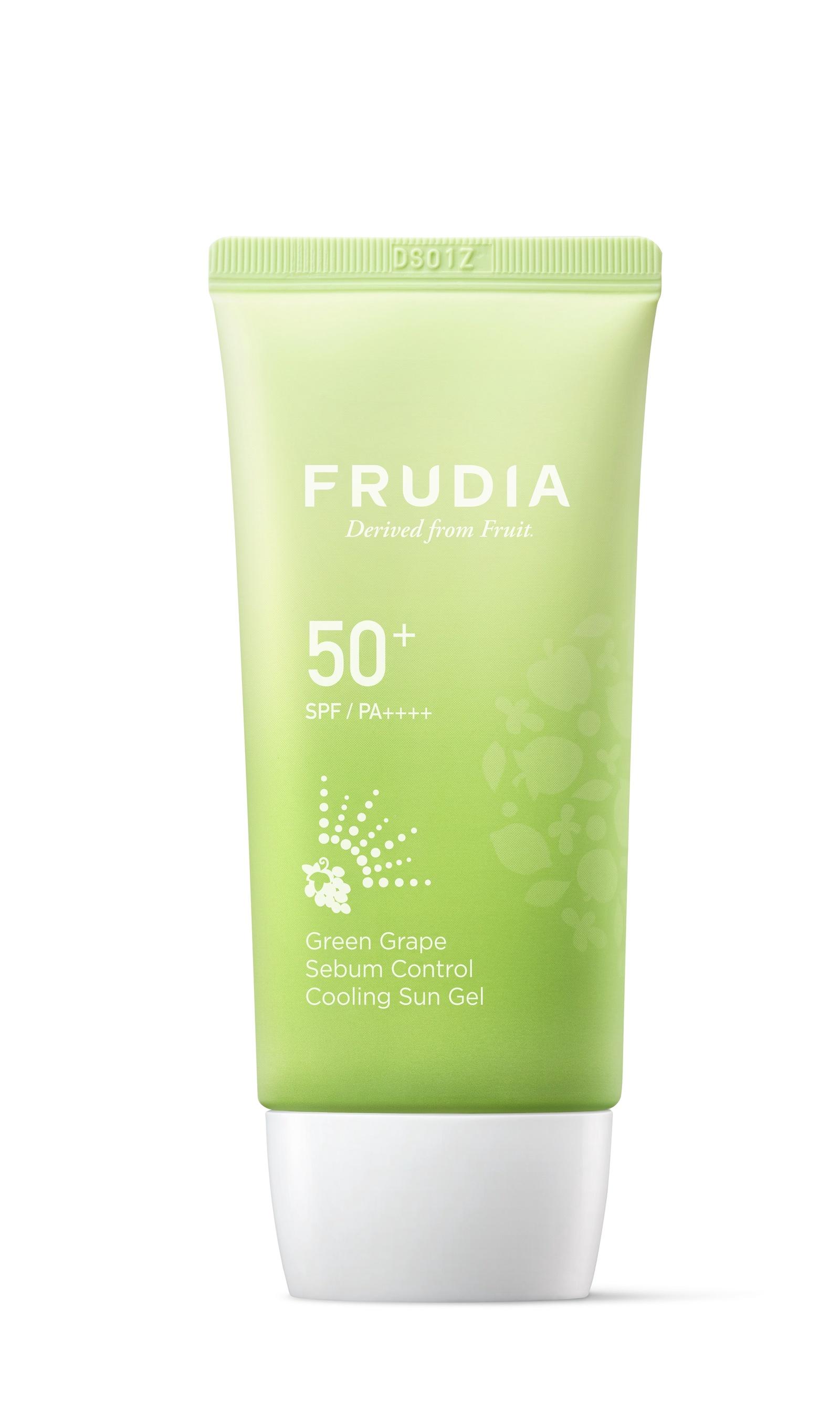 Frudia Солнезащитный гель с зеленым виноградом Себум контроль SPF50+ PA++++