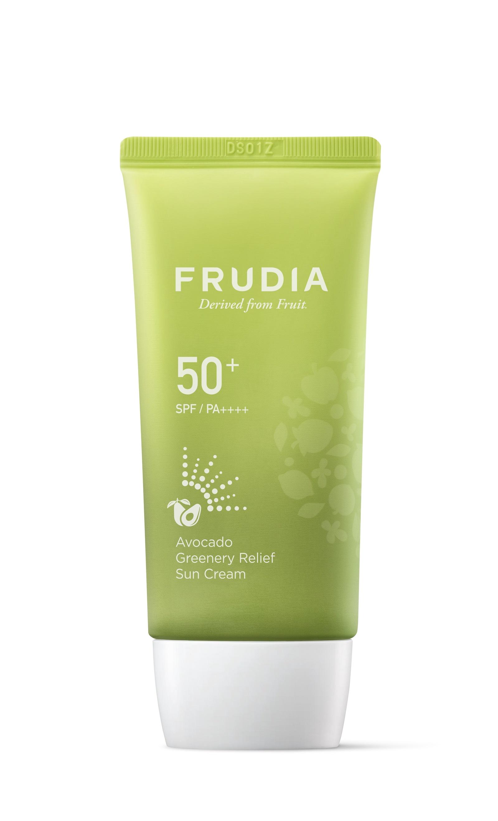 Frudia Солнезащитный восстанавливающий крем с авокадо SPF50 + PA ++++