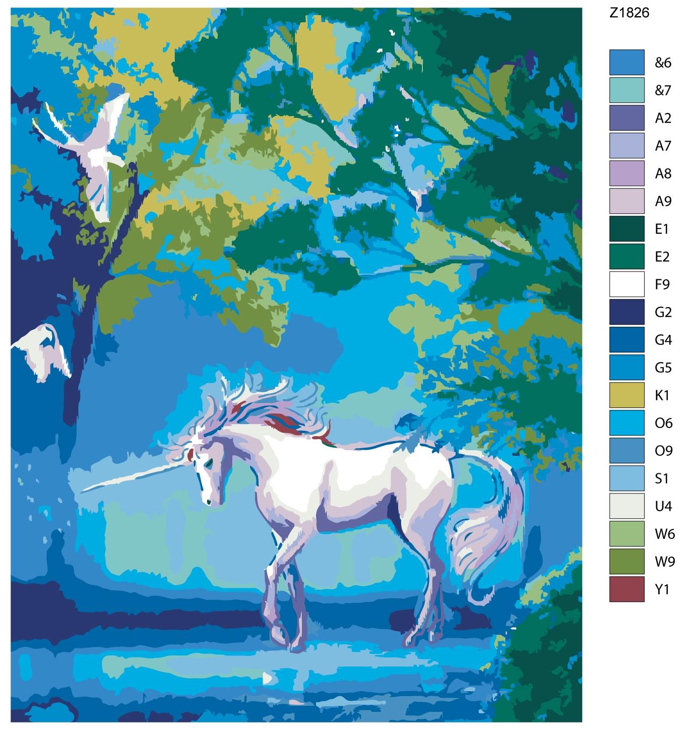 Картина по номерам, 80 x 100 см, Z1826