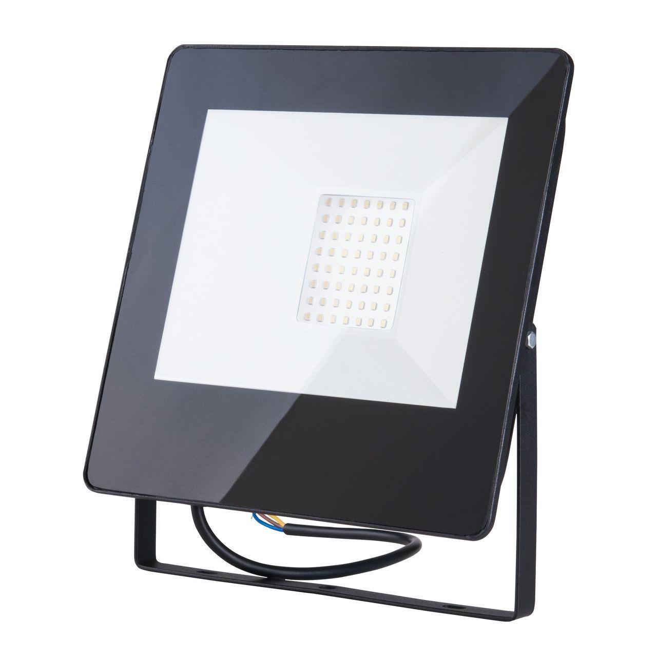 Прожектор Elektrostandard 4690389126833, 50 Вт elektrostandart прожектор прожектор с датчиком 003 fl led 30w 6500k ip44