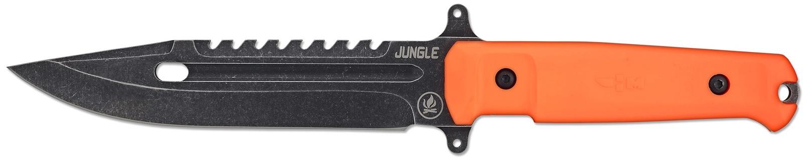 Нож выживания туристический с нейлоновым чехлом Ножемир Jungle H-194 нож м b 265 34 ясень нескладной хозяйственно бытовой с нейлоновым чехлом