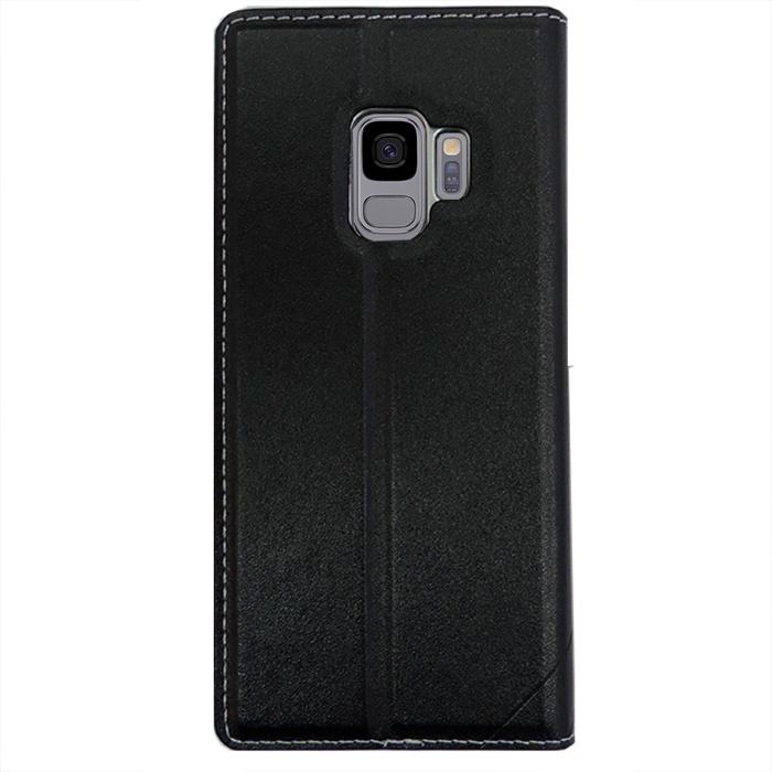 Чехол-книжка для Samsung Galaxy S9 FLOVEME - Черный чехол книжка montblanc sartorial flip gp g960mbcfaaa для samsung galaxy s9 черный