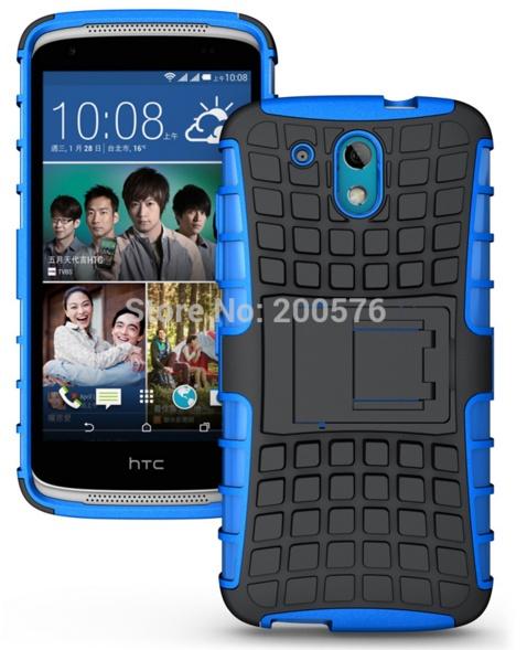 Чехол-бампер MyPads для HTC Desire 326G Dual Sim Противоударный усиленный ударопрочный синий босоножки clowse clowse cl020awevti8