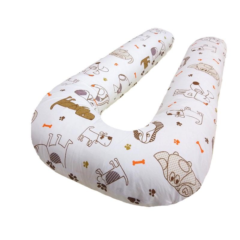 Наволочка Петербургский Уют на подушку для беременных и кормящих формы U Luсky Dog