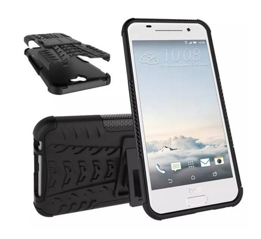 Чехол-бампер MyPads для HTC One A9/HTC Aero/HTC A9w Противоударный усиленный ударопрочный черный не запускается htc