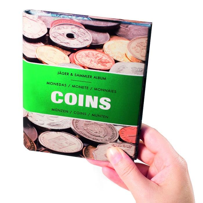 Карманный альбом для монет COINS (Leuchtturm) лист в альбом numis nh 6 для монет leuchtturm на 6 ячеек 5 шт