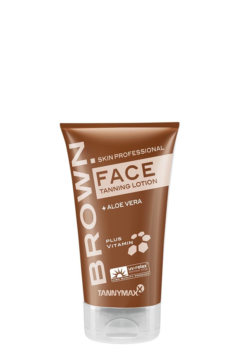 BROWN FACE- крем-ускоритель для загара лица, шеи и зоны декольте с Anti-age эффектом