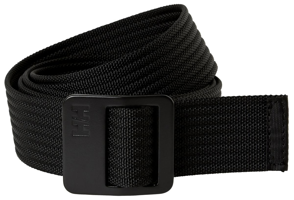 Ремень Helly Hansen Hh Webbing Belt, цвет: черный. 67363_990. Размер 130 ремень мужской askent цвет черный rm 6 lg размер 125