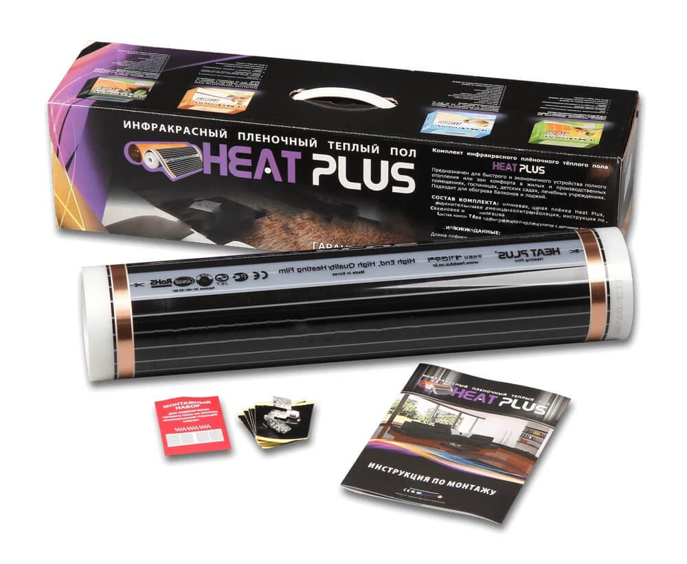 Пленочный теплый пол Heat Plus 50/220, 6.0 кв.м.