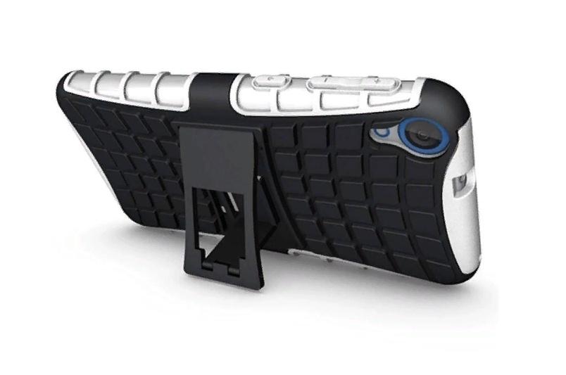 цена на Чехол-бампер MyPads для ASUS Zenfone 2 Laser ZE601KL Противоударный усиленный ударопрочный белый