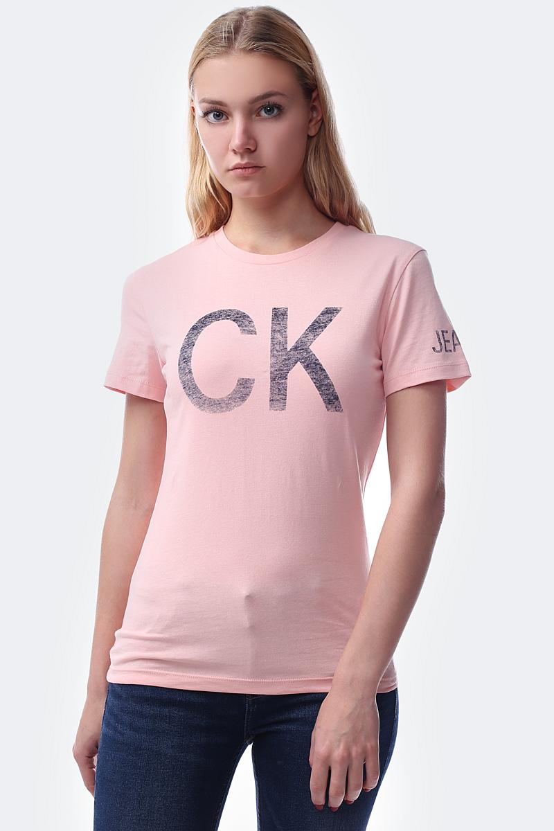 лучшая цена Футболка Calvin Klein Jeans