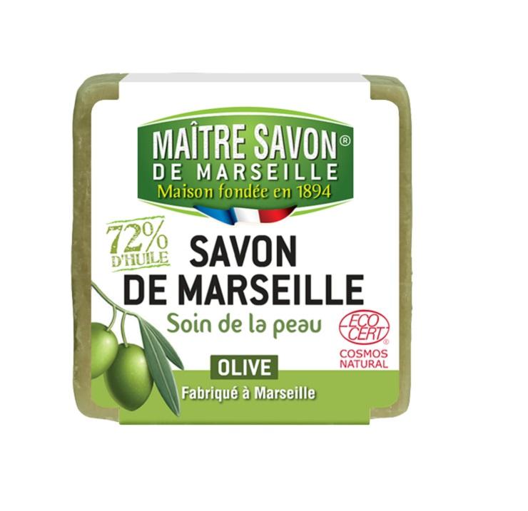 Марсельское Мыло Оливковое, 200 г Maitre Savon de Marseille