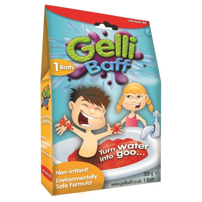 Gelli Baff Средство для купания (Гель Выброс лавы Красный)