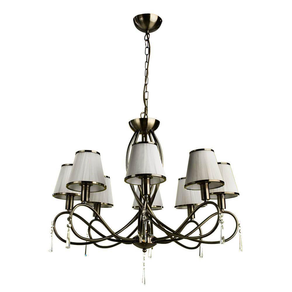 Подвесной светильник Arte Lamp A1035LM-8AB, E14, 40 Вт цена 2017
