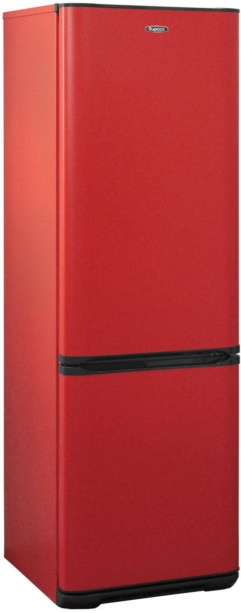 Фото - Холодильник Бирюса H127, двухкамерный, красный двухкамерный холодильник hitachi r vg 472 pu3 gbw