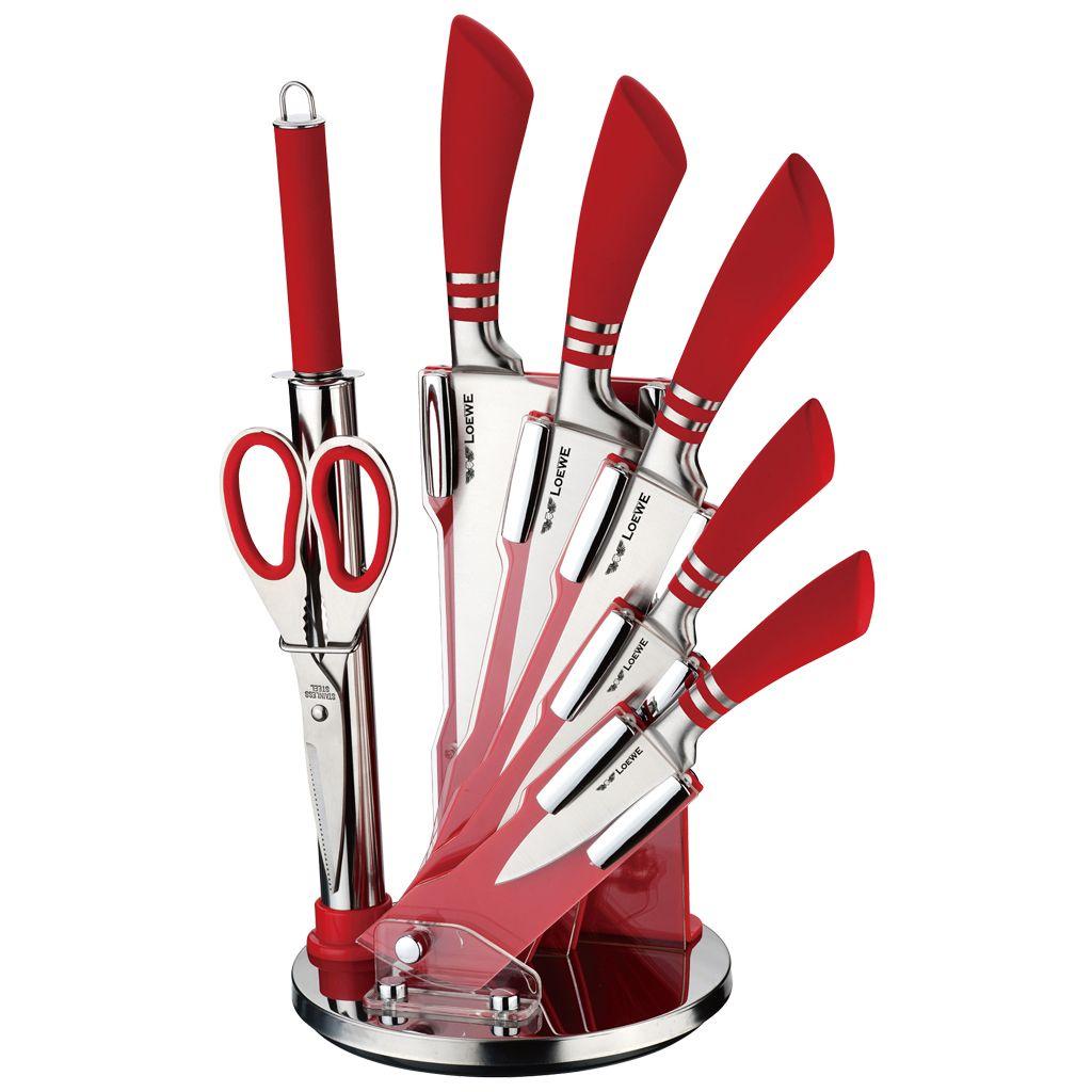 Набор ножей 1х6 8 предметов LOEWE LW-19002R