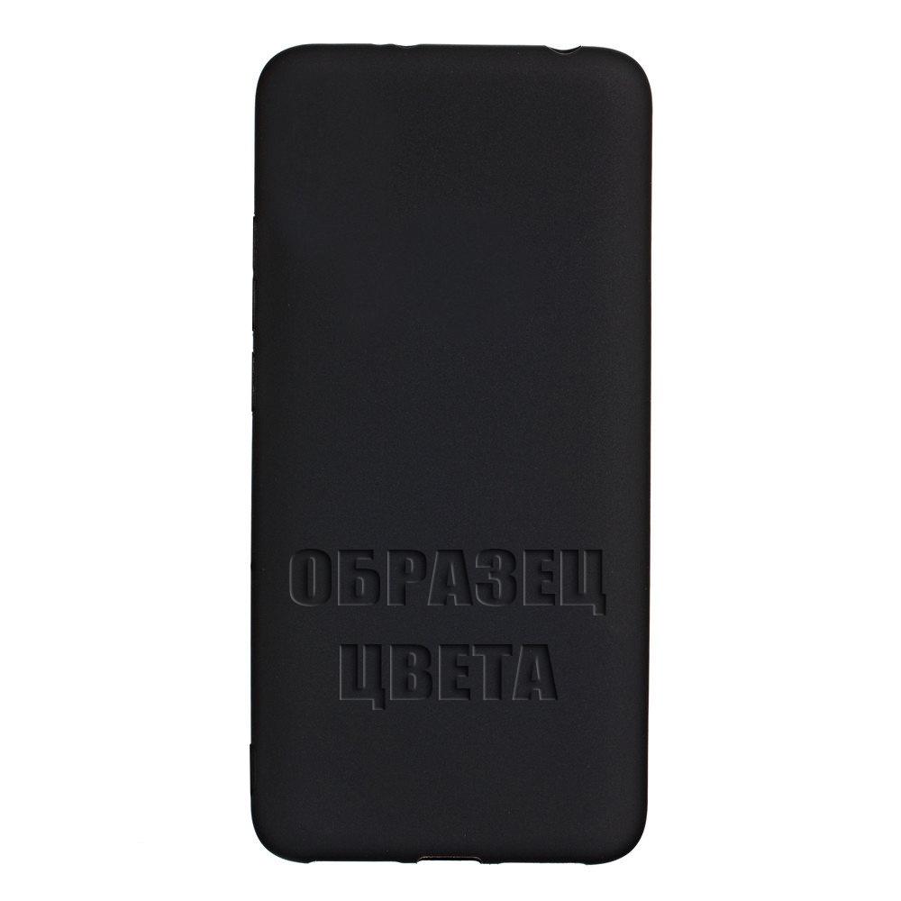 Чехол силиконовый Huawei Nova 5 черный Нет бренда