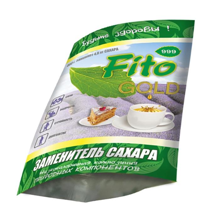Фито Голд 999, заменитель сахара, 330 гр.