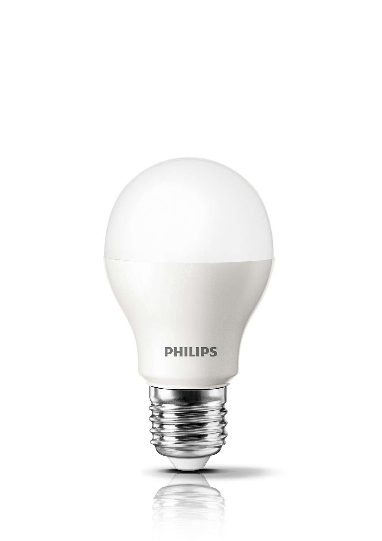 Лампочка Philips 871869673745300, Холодный свет 5 Вт светодиодная лампа philips ess ledbulb 5w e27 6500k 230v a60