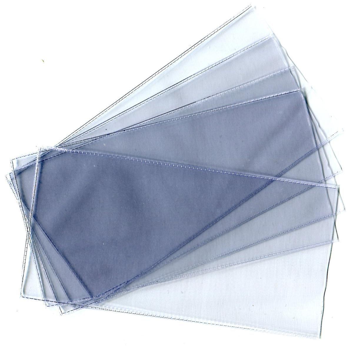 Комплект прозрачных пластиковых холдеров для банкнот. Формат 80 x 165 мм. Упаковка 10 штук. Производство Россия. Нет бренда