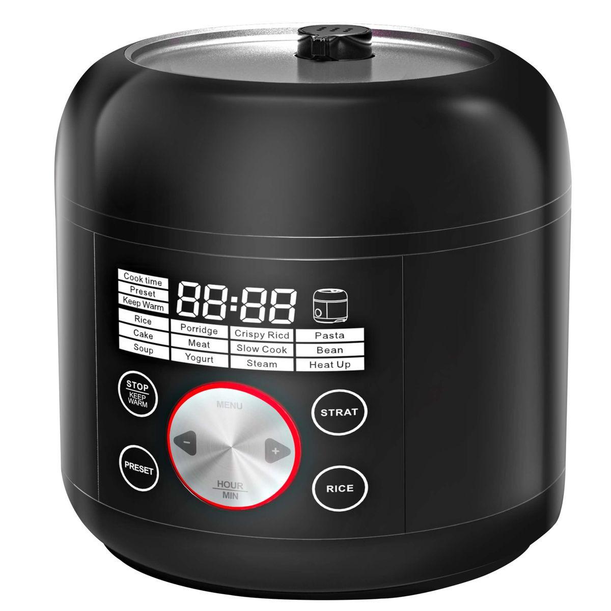 Мультиварка Gemlux GL-PC-27, серебристый, черный