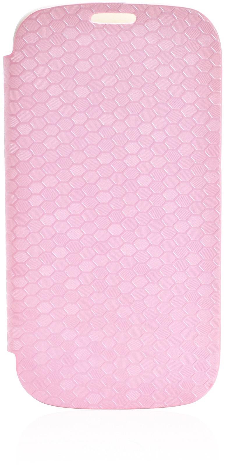 Чехол Gurdini Flip Case соты 380031 для Samsung Galaxy S3,380031, розовый