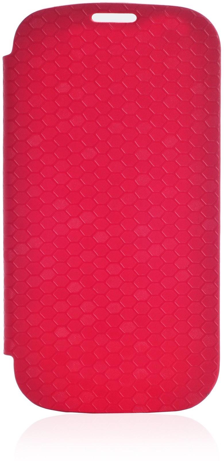Чехол Gurdini Flip Case соты 380026 для Samsung Galaxy S3,380026, красный