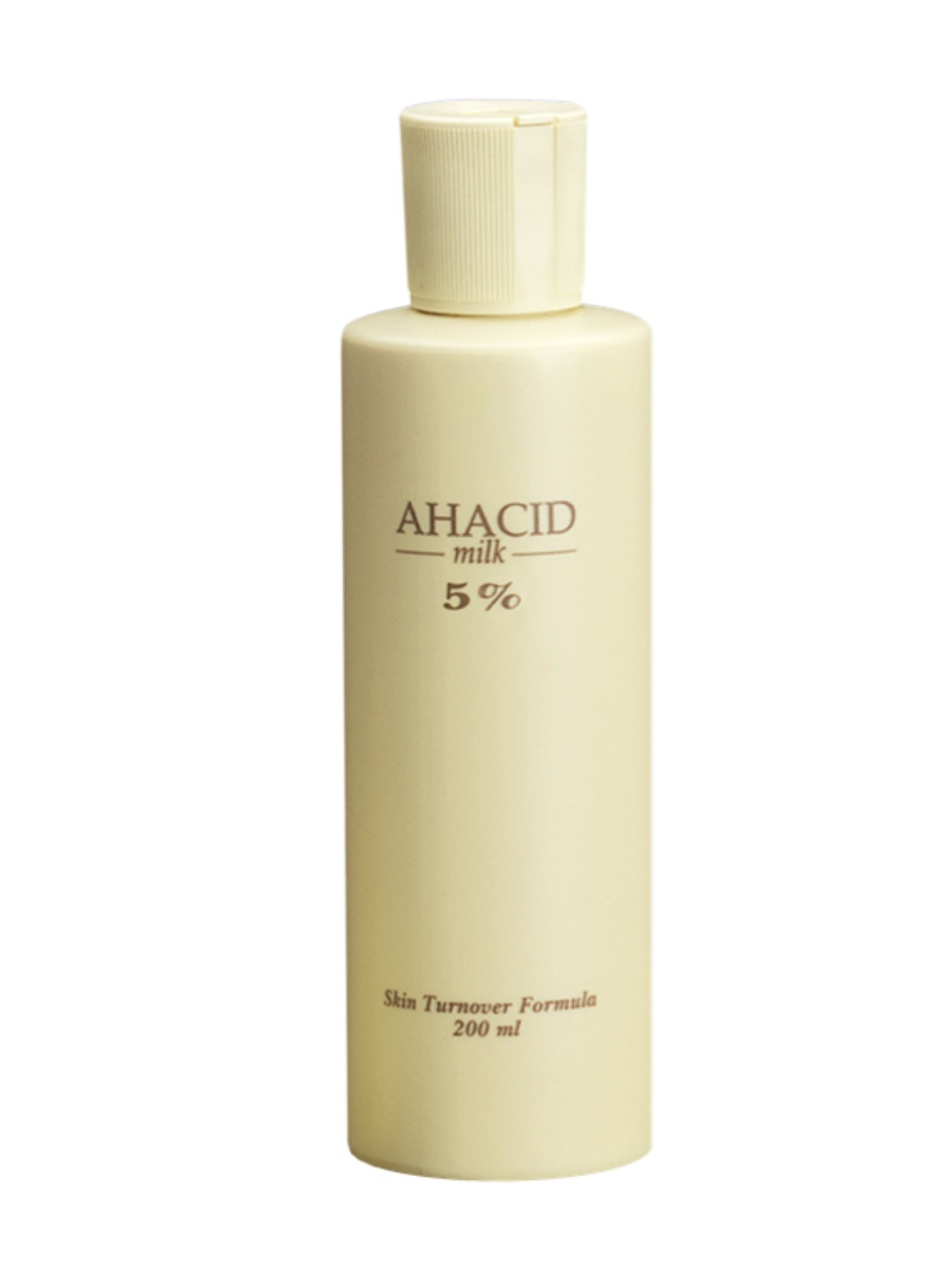 Молочко для тела AHACID MILK 5% с отшелушивающими и увлажняющими свойствами