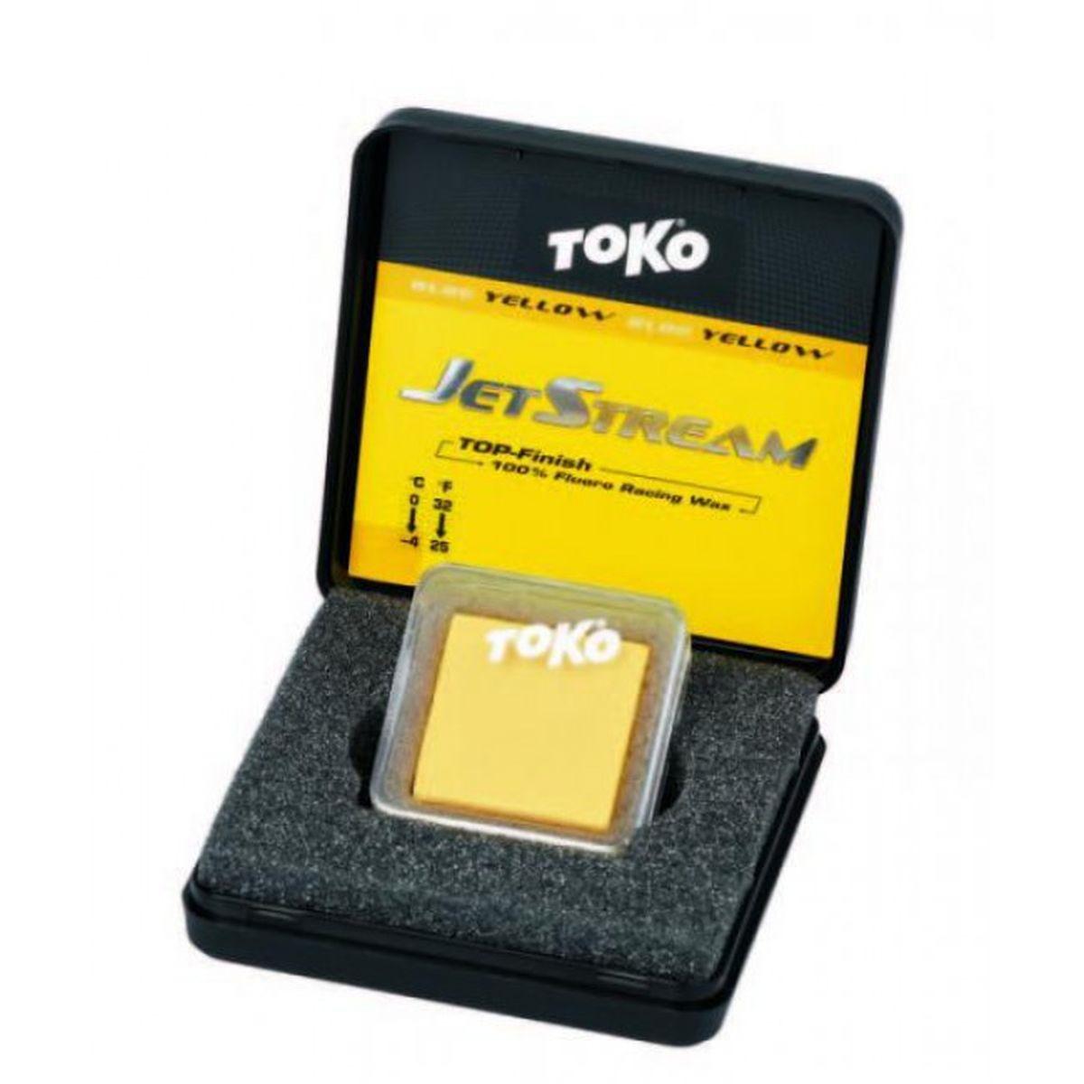 Фторовая спрессовка Toko JetStream, 5509090, желтый, 20 г
