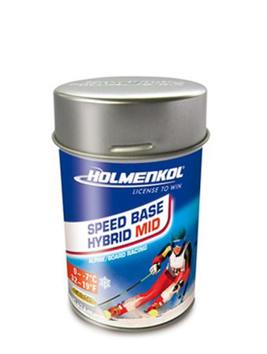 Фторовый порошок на холод Holmenkol SpeedBase Hybrid Mid для горных лыж и сноуборда, 24550, 75 г