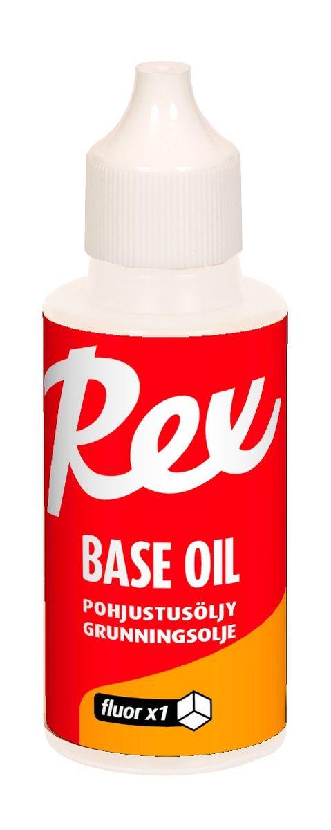 Низкофторовая жидкость для базовой подготовки лыж Rex 492 Fluor Base Oil, 492, 50 г