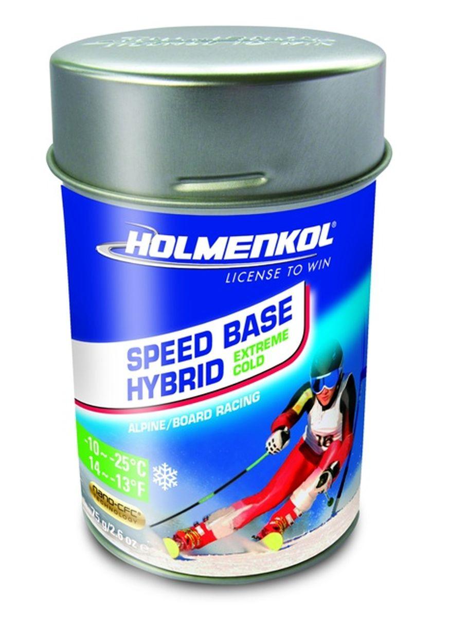 Фторовый порошок на холод Holmenkol SpeedBase Hybrid X-Cold для горных лыж и сноуборда, 24560, 75 г
