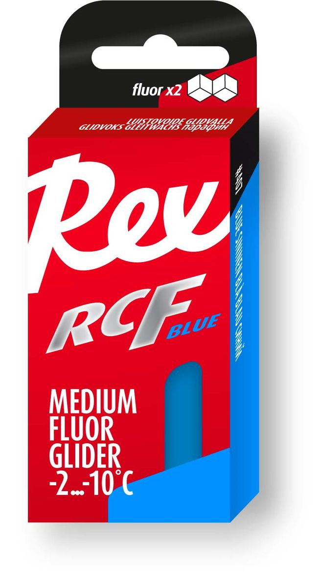 Среднефтористый парафин Rex 402 RCF, 402, синий, 43 г