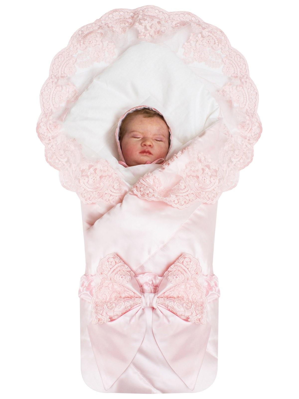 Конверт для новорожденного Luxury Baby конверт для новорожденного с рисунком кошка один размер
