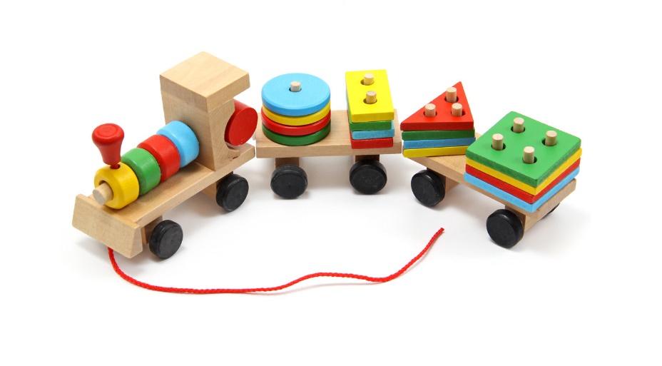 Развивающая игрушка Сортер паровозик