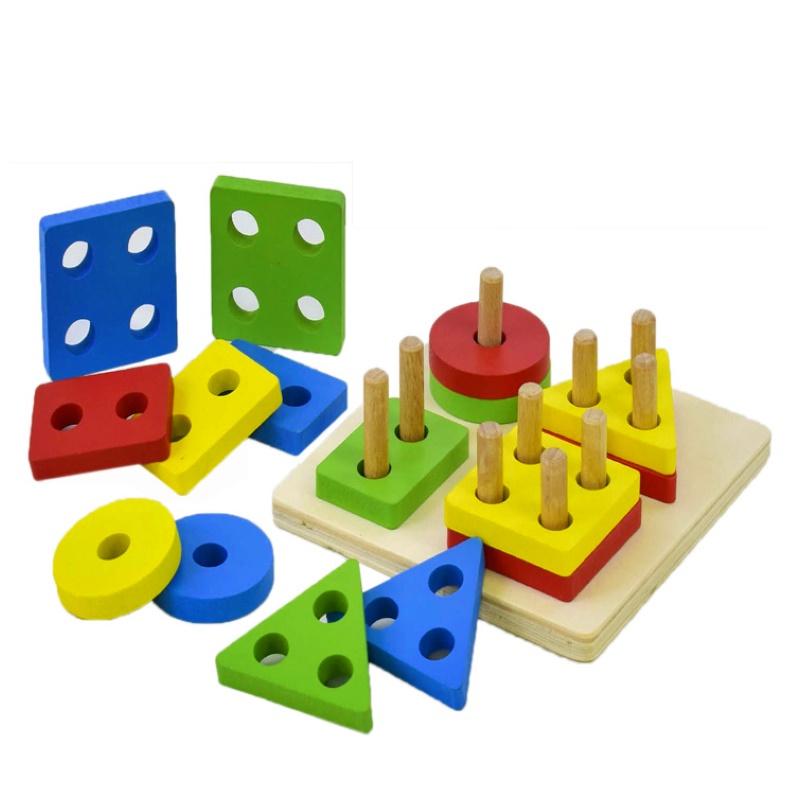 Пирамидка сортер цветная игрушки для детей в 5 месяцев