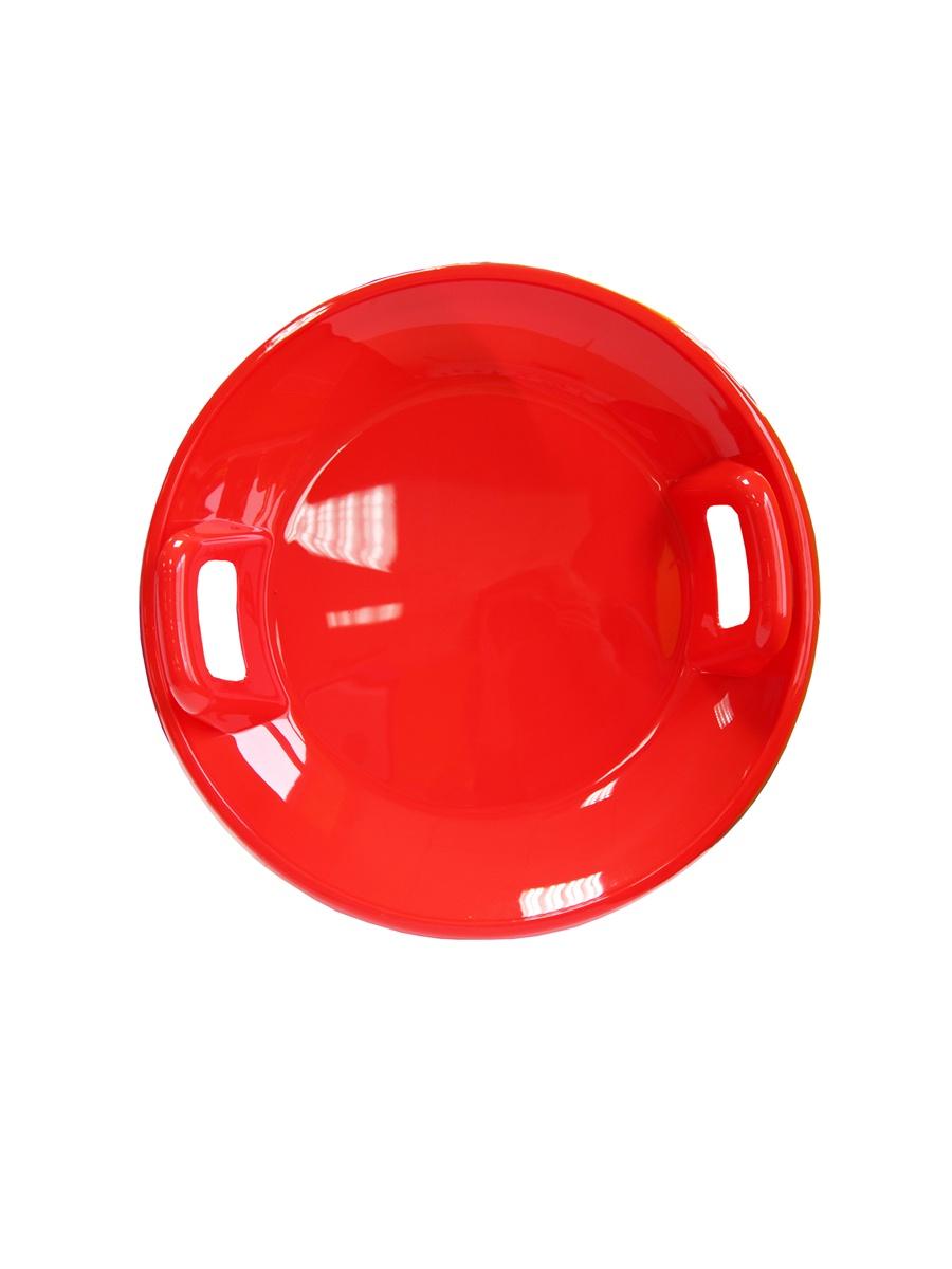 Ледянка Green Plast ЛБК60 детская большая круглая красная от 3 лет пластик все цены