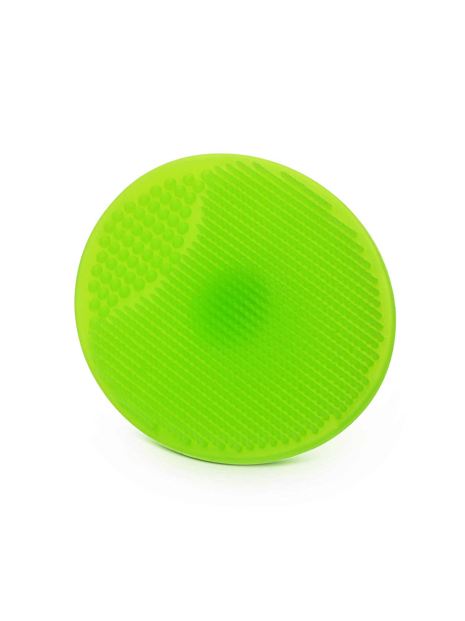 Силиконовый спонж для умывания MimiForme, зеленый