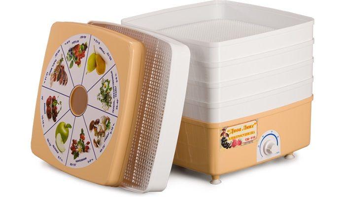 Сушка для фруктов и овощей Ротор Дива Люкс СШ-010-04 - Прочая кухонная техника