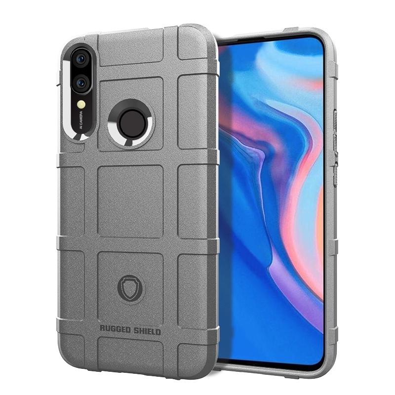 Чехол-бампер MyPads для Huawei Y5 2019/Huawei Honor 8S Противоударный усиленный ударопрочный серый