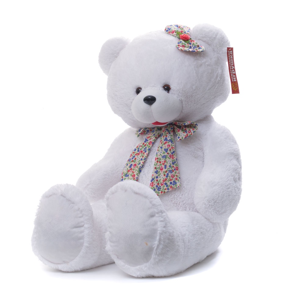 Мягкая игрушка Медведь большой с бантом Нижегородская Игрушка См-389-5