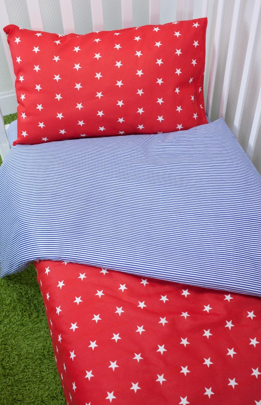 Комплект постельного белья для малышей Magic City Красное созвездие комплект постельного белья облачко дельфин в детскую кроватку с простынью на резинке 186903