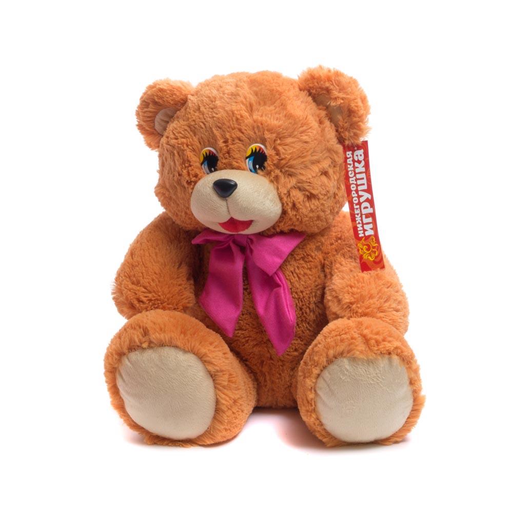 Мягкая игрушка Медведь с бантом Нижегородская игрушка См-650-5