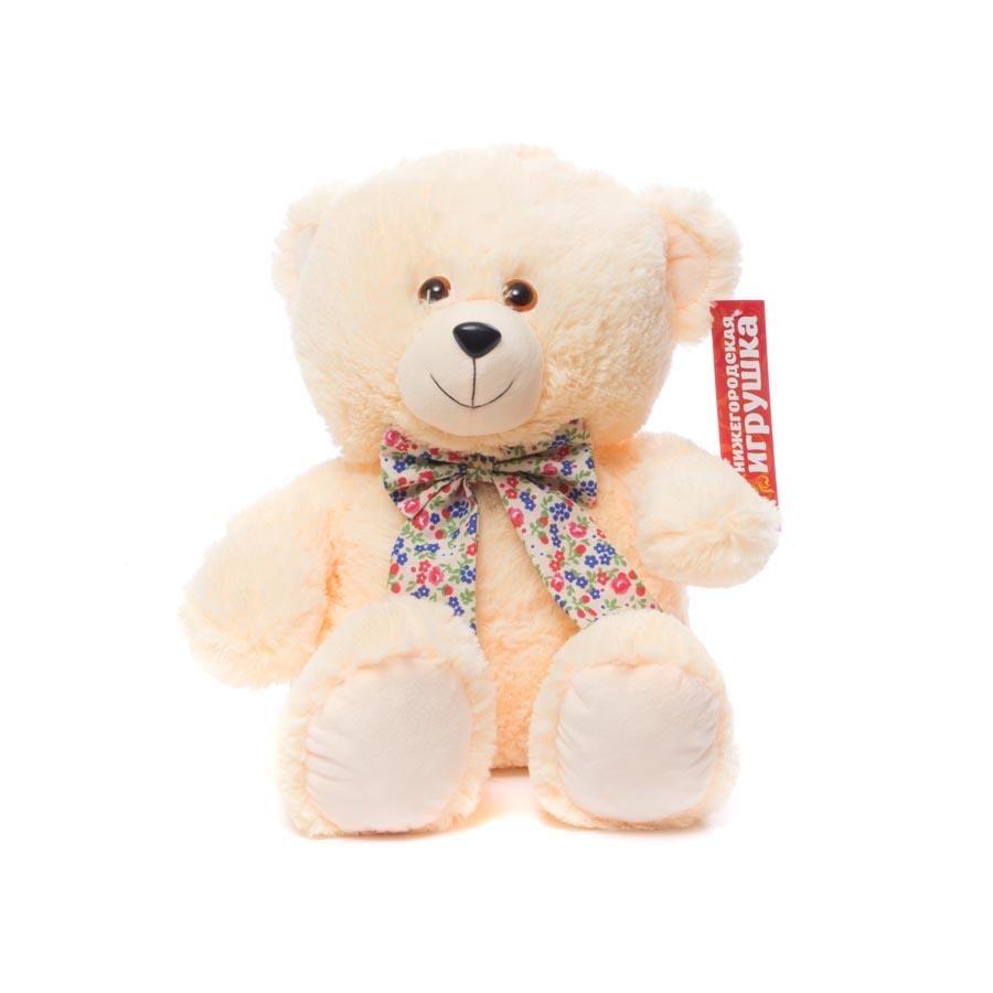 Мягкая игрушка Медведь с бантом Нижегородская Игрушка См-703-5