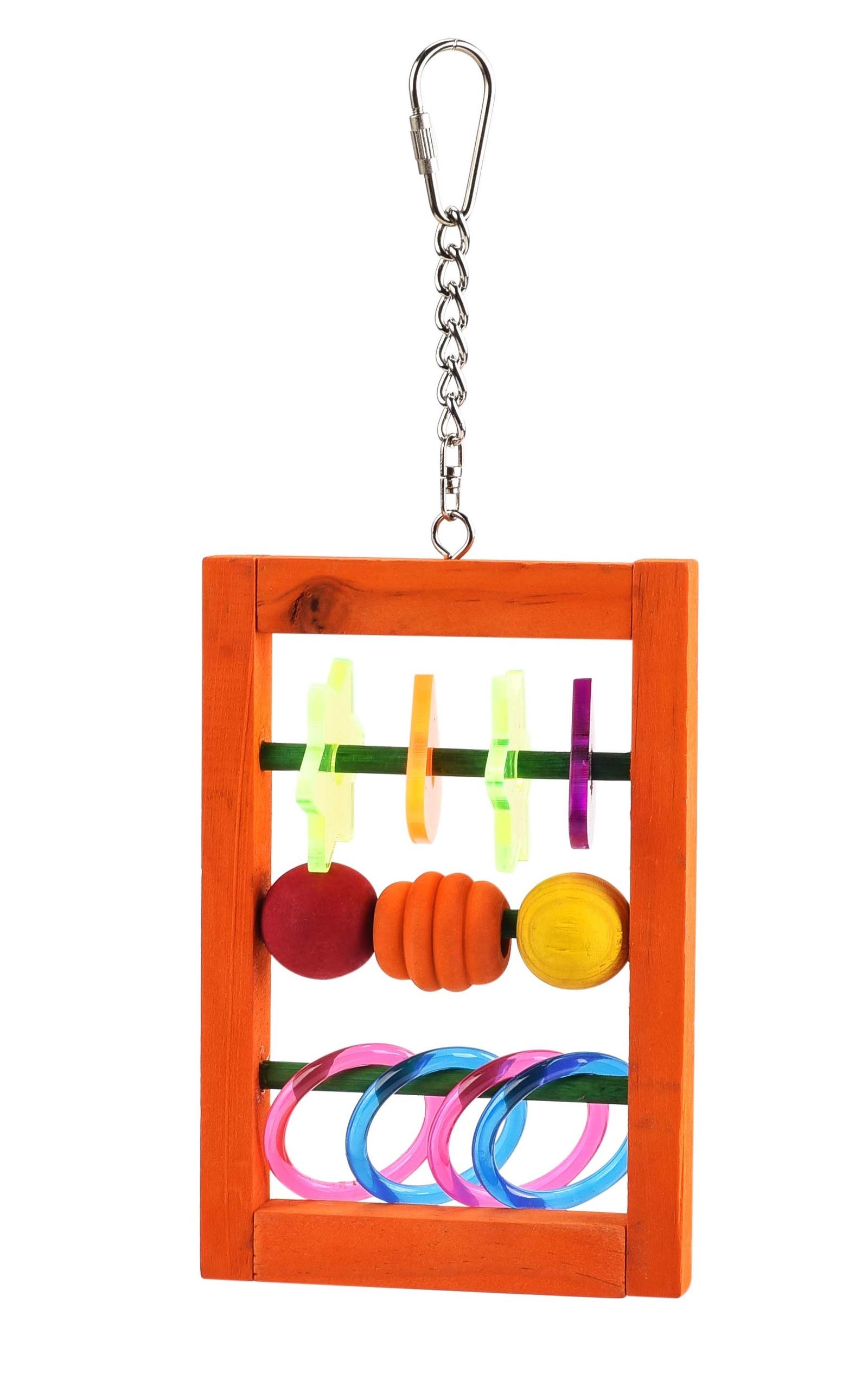 Игрушка для птиц SKY Acrylic Hanger, мультиколор, 15см (Великобритания)