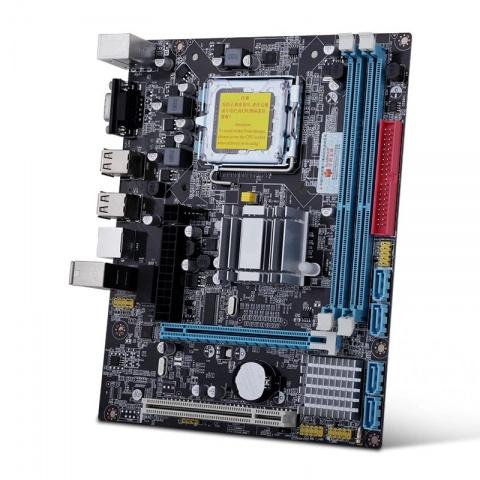 Материнская плата HUANANZHI G41 (LGA 775/771, 16GB DDR3, mATX) intel xone e5450 lga 775 quad core processor 3 0ghz 12mb 1333 close to lga 775 q9650 with two 771 to 775 adapters