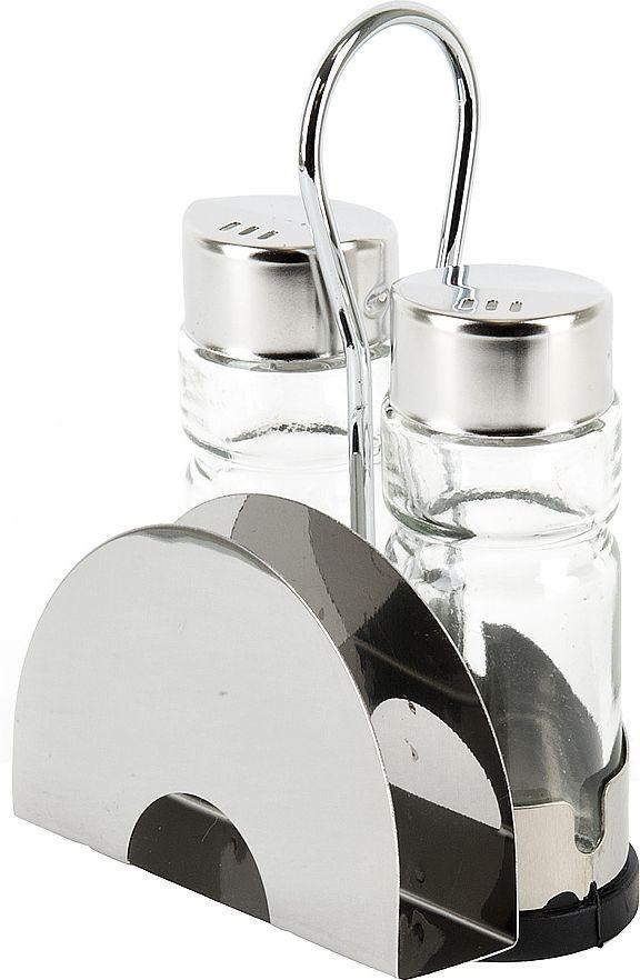 Набор для специй Nouvelle, 0190234, серебристый, 3 предмета цены