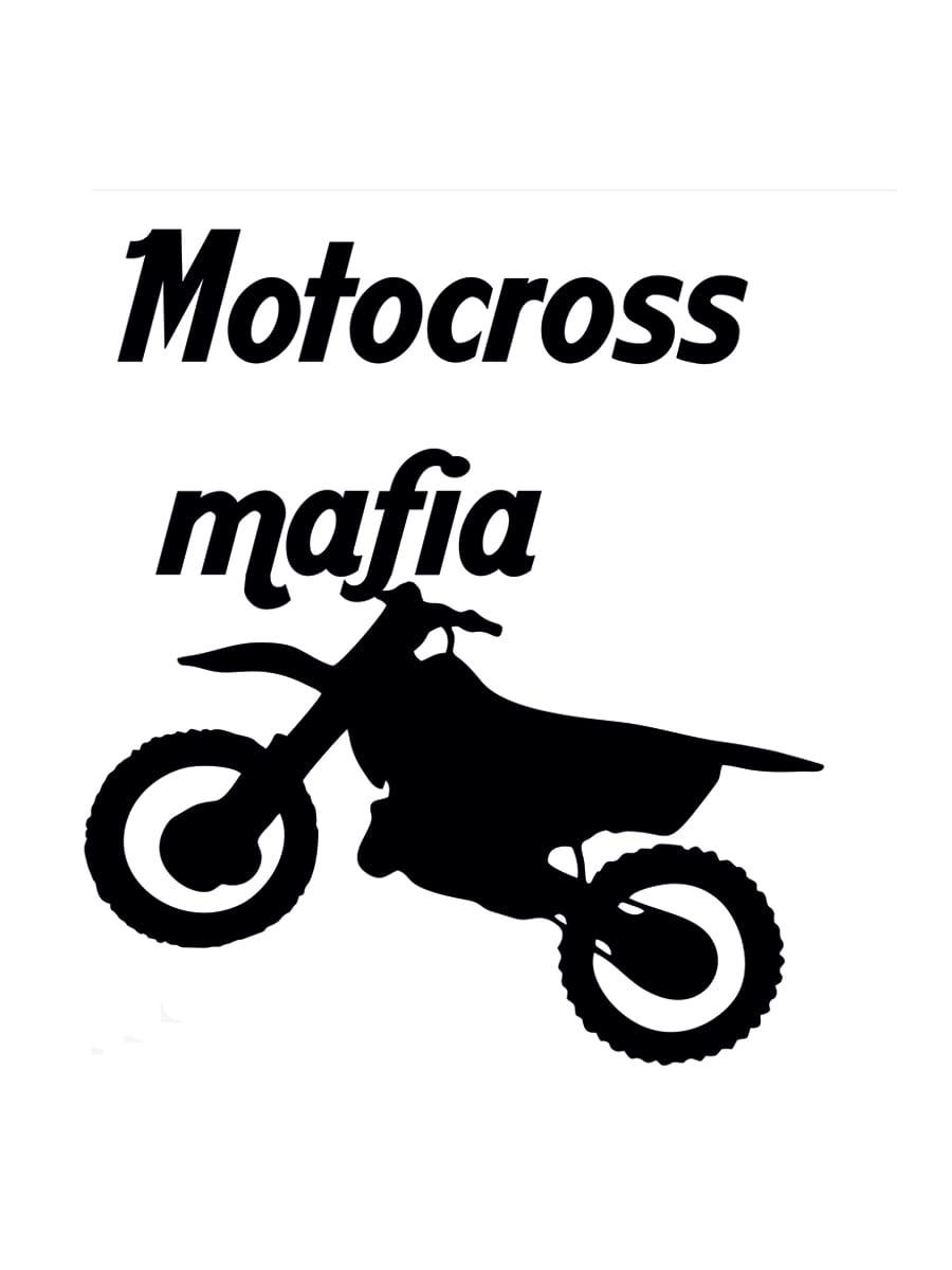 Фото - Наклейка на автомобиль Motocross mafia виниловая 15х15 наклейка инвалид в авто двухсторонняя 15х15 см