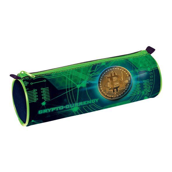 Пенал-тубус Hatber Crypto на молнии